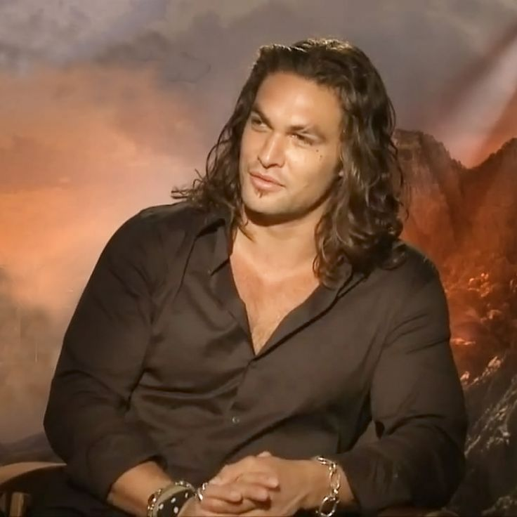 Jason Momoa - One the Most Handsome, Charismatic Men on the Planet. . .