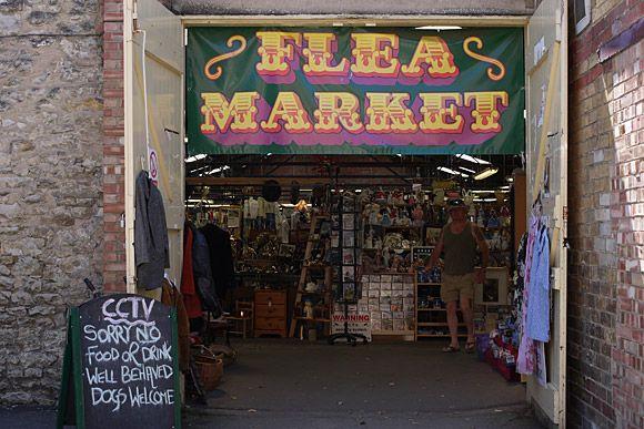 Pickering, N. Yorkshire flea market