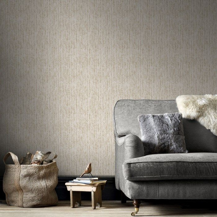 Devore Cream/Gold - Browse Wallpaper by Graham  Brown - Modern Designer Wall Coverings