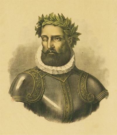 Luís Vaz de Camões (Lisboa[?], c. 1524 — Lisboa, 10 de junho de 1580) foi um célebre poeta de Portugal, considerado uma das maiores figuras da literatura em língua portuguesa e um dos grandes poetas do Ocidente.