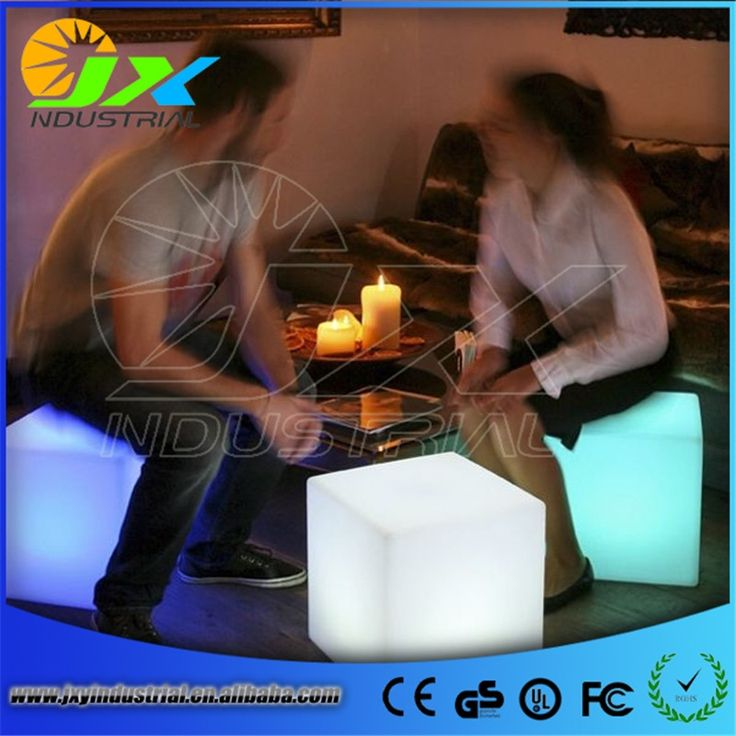 64.60$  Buy now - http://alionp.shopchina.info/1/go.php?t=32793697300 - Free shipping led illuminated furniture,waterproof 40*40*40CM led cube chair bar stool,led seat rechargeable decorated Christmas 64.60$ #shopstyle