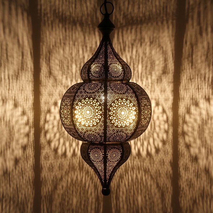 Magic Interior | Moroccan LAMP Designc | Vintage Decor lamp, Spectacular Play of Light with Patterns