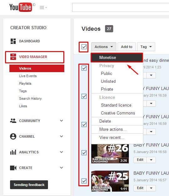 Bisnis Tanpa Modal dengan Cara Mendapatkan Uang dari Youtube
