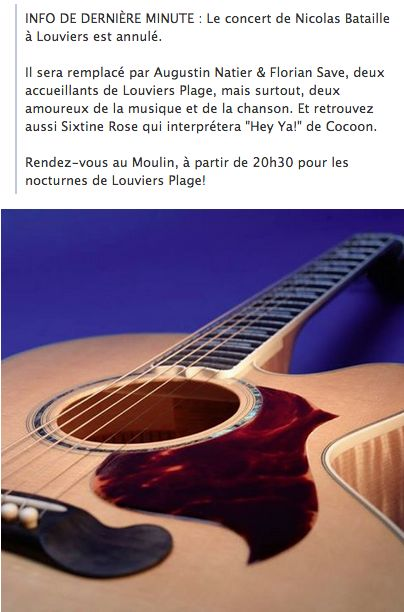 La Nocturne de #Louviers Plage change ce soir, découvrez le nouveau programme !