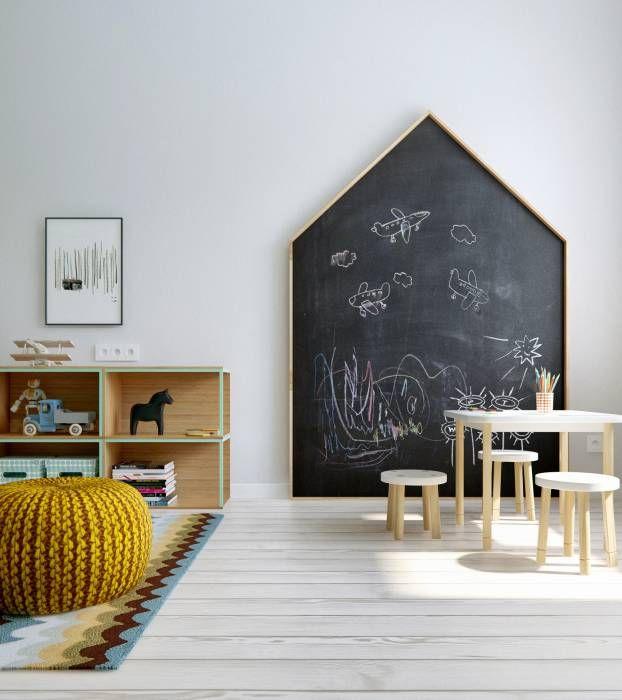 Quartos de criança escandinavos por INT2architecture