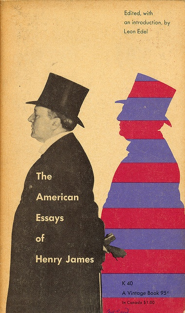 The American Essays Of Henry James cover by Paul Rand by Scott Lindberg, via Flickr