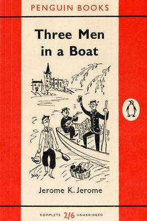 Dorrit Dekk illustrated one of my favourite books - Three Men in a Boat - for Penguin.