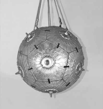 Rene Lalique Chandelier Passiflore Pattern Created In Diameter