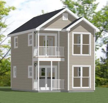 16x26 house w loft 16x26h4 722 sq ft excellent for 2 story house plans with loft