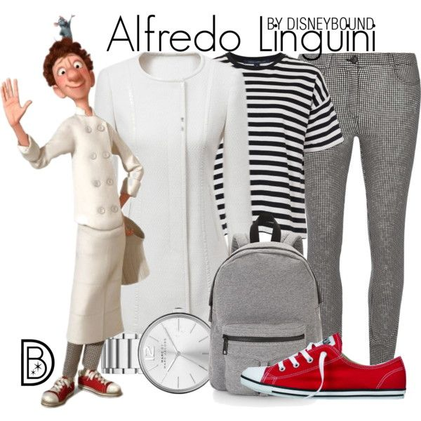 DisneyBound Alfredo Linguini in Ratatouille