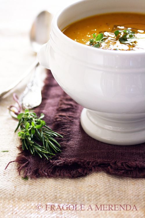 zuppa d'orzo e zucca