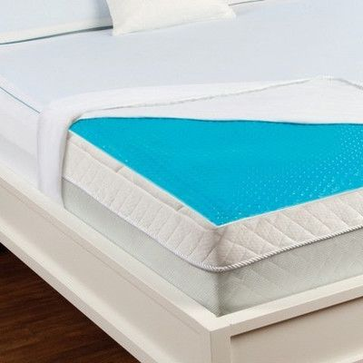 Luxury Home Hydraluxe Cooling Gel Bed Mattress Pad