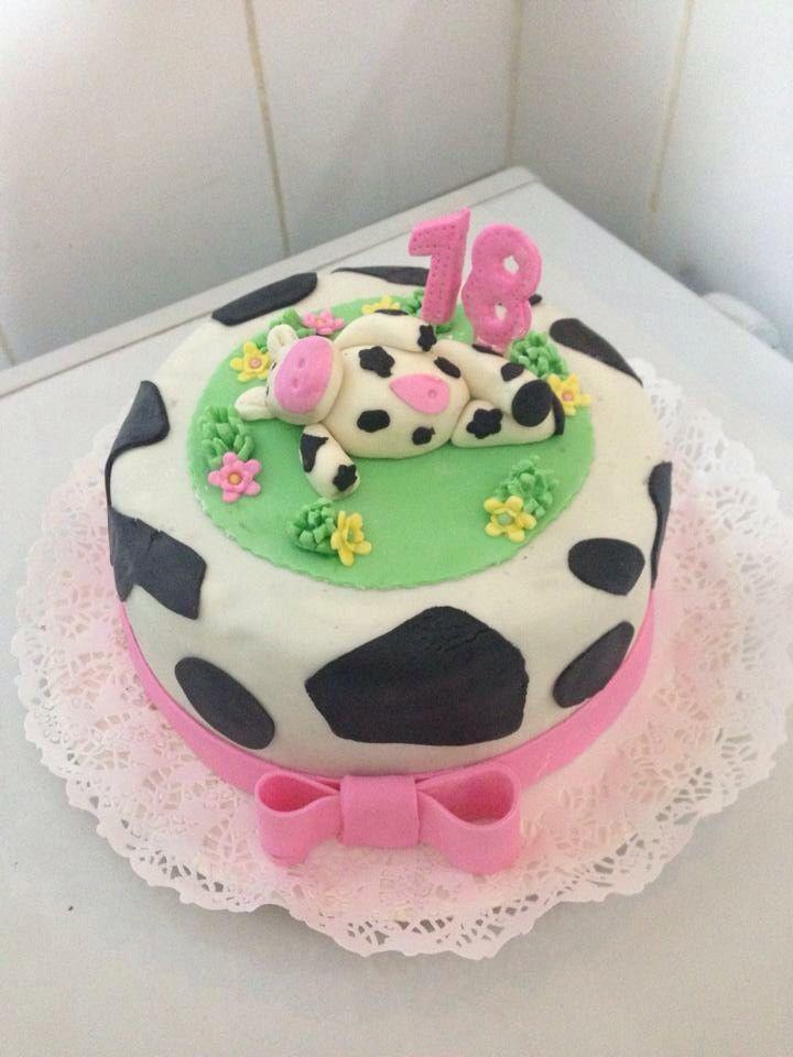 Torta vaca niña - Romina Isella