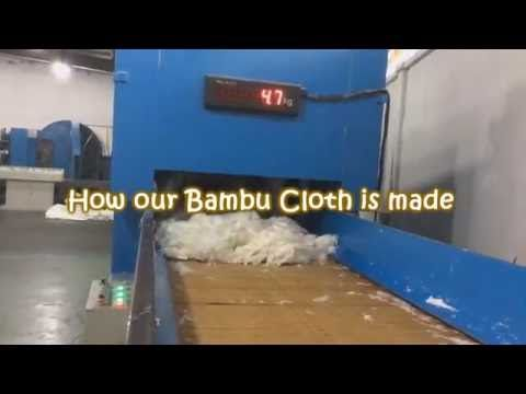 How our Bambu cloth being made and processed through our factory machine. Get your Bambu cloth here http://rintikinternationa.wixsite.com/rintikproducts