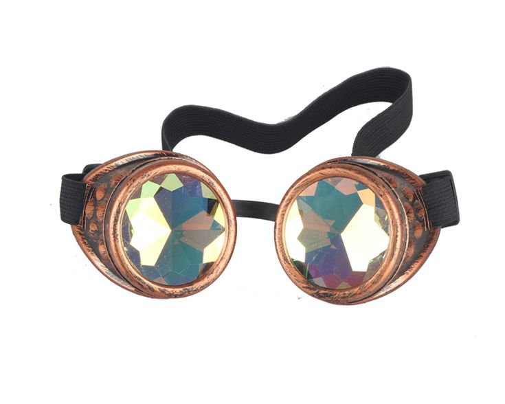 Christmas-Party-Steampunk-Goggles-Glasses-Kaleidoscope-Gothic-Vintage-Cosplay-UK