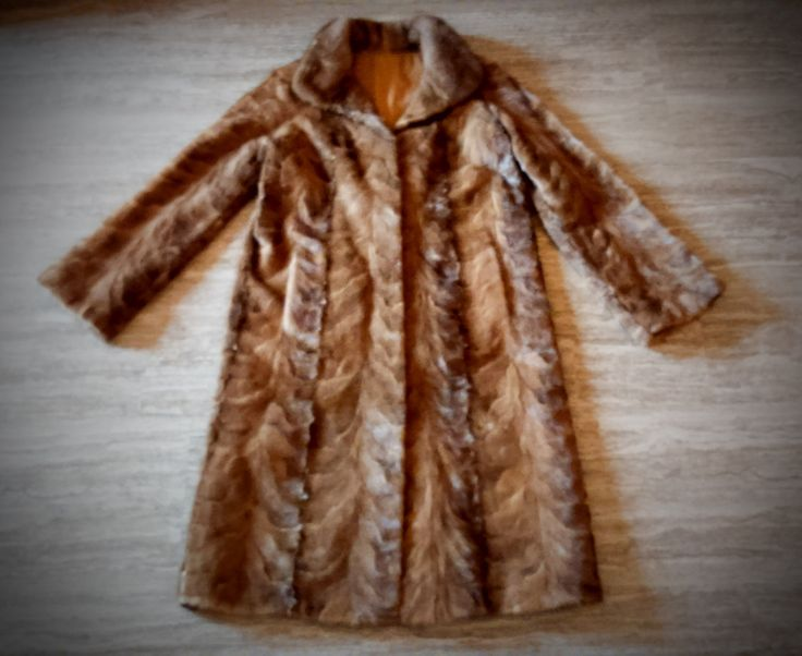 Fur Coat/ Real fur/ Mink fur/ brown color by ReginaFurs on Etsy