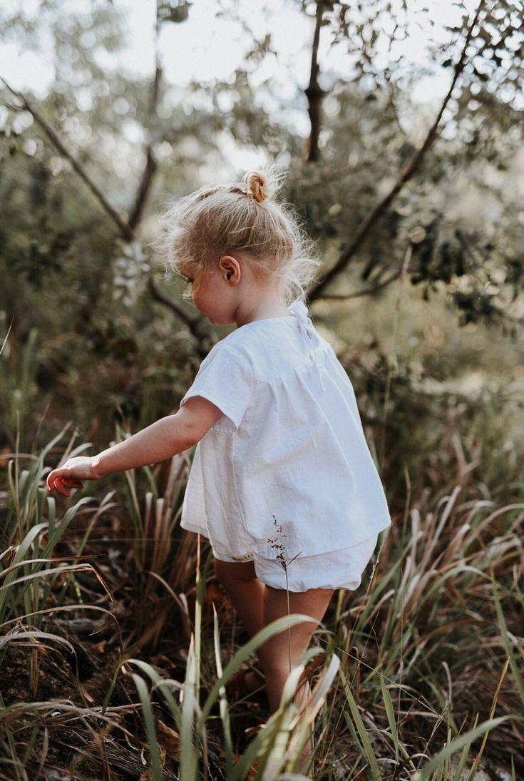 Handmade White Linen Blouse & Bloomers | MiyaAndMa on Etsy
