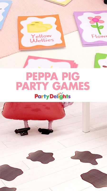 Complete your Peppa Pig birthday party with these fun Peppa Pig party games! We've rounded up our favourite games and thrown in some free printables to help you keep down the cost of your party.