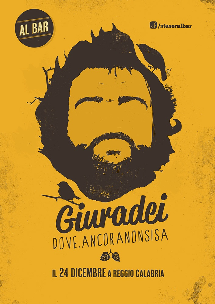 Giuradei (http://www.giuradei.it/) live at Al bar (Poster)