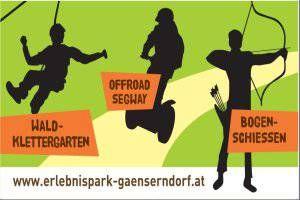 Erlebnispark Gänserndorf, NÖ, Frühling-Herbst, Erlebnisspielplatz, Klettern, Streichelzoo
