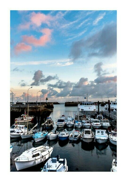 Good  morning ... from Port Joinvile, Île dIeu , France