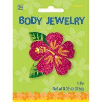 Luau Glitter Body Jewelry