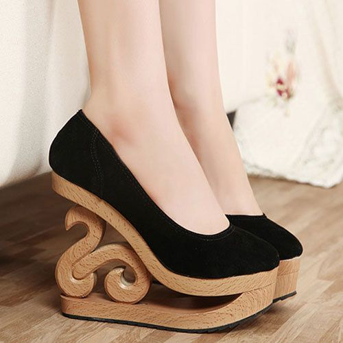 65 best Shoes I want images on Pinterest | Wedges, Platform wedge ...