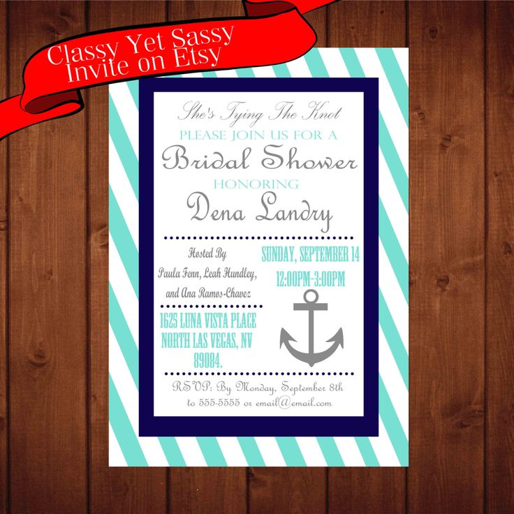 257 best Classy Yet Sassy Invites and Printables images on