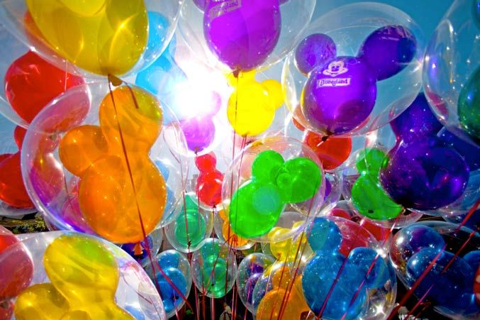 Disney Balloon within a Balloon = Magic!