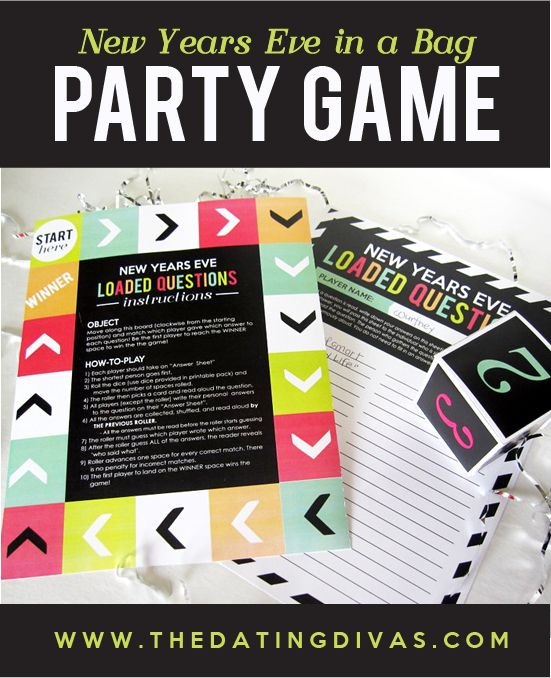 New Year's Eve Party Printable Pack - Inspiration Made Simple