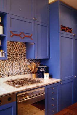 Projekty,  Kuchnia zaprojektowane przez Studio Messori