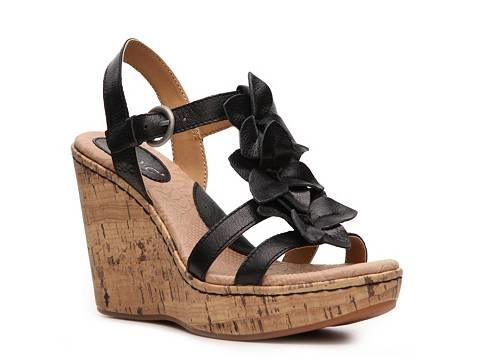 I LOVE these sandals. I got them a couple of months ago. They are one of the most comfortable pair of wedges I have ever worn. And super cute on your feet.