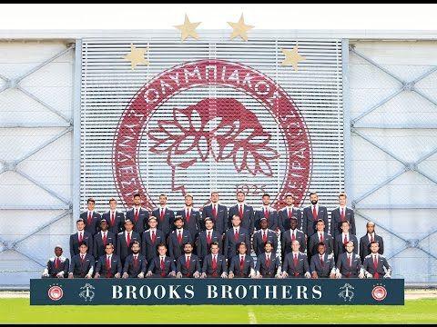 Για 4η χρονιά η BROOKS BROTHERS δίπλα στον Ολυμπιακό   ArenaFm 89,4 Συνεχής Αθλητική Ενημέρωση