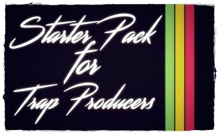 STARTER PACK for TRAP PRODUCERS + BONUS (BEST TRAP FL KITS MIDI PRESETS NEXUS)