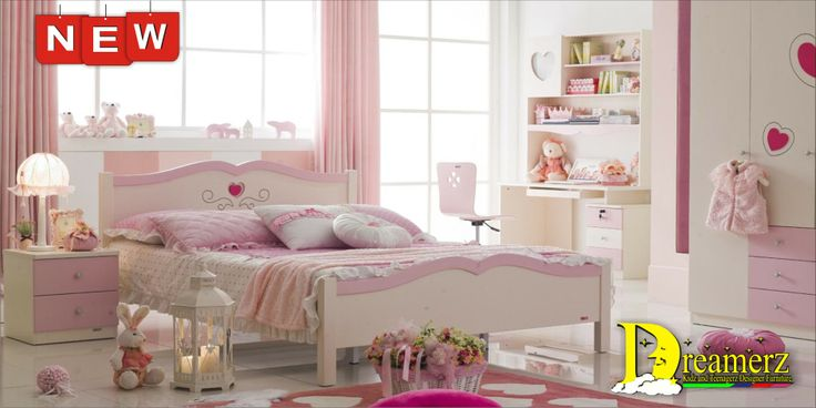 5118 Jasmine Pink Hearts Bedroom