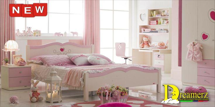 Jasmine Pink Hearts Bedroom set