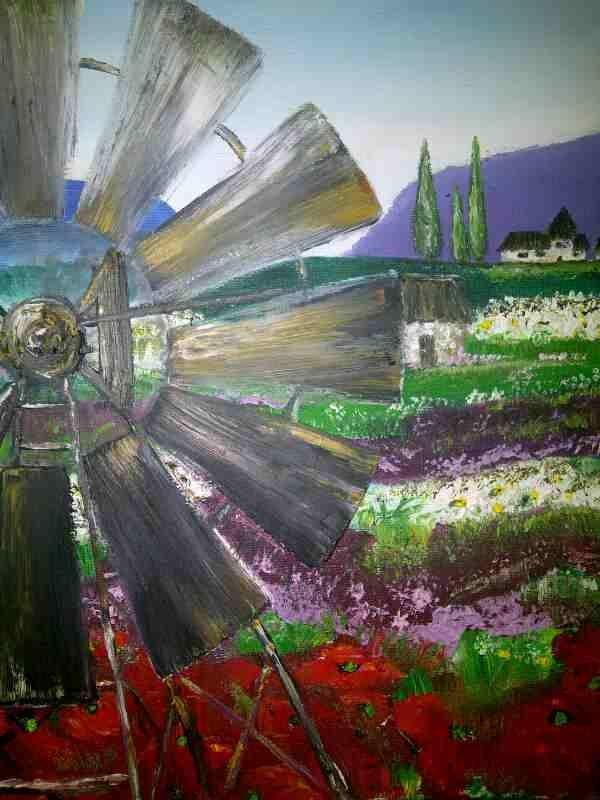 I love windmills: windpompe by Caren