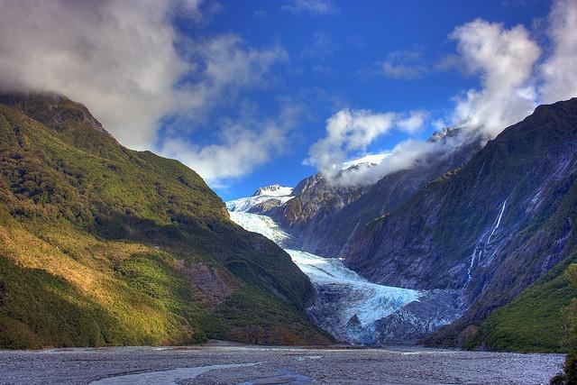 Franz Josef Glacier on the West Coast of New Zealand