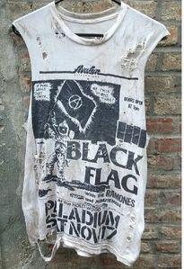 Black Flag cut off tee #fashion #vintage #destroyed tees #punk http://www.dollskill.com/sitesearch?q=christian+brenner