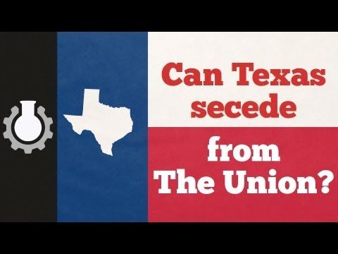Can Texas Secede from the Union? Good question with a surprising answer...