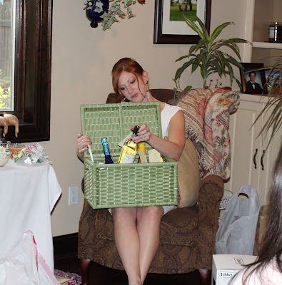 this girl recaps her whole bridal shower with pics! so many great gift/game ideas :)