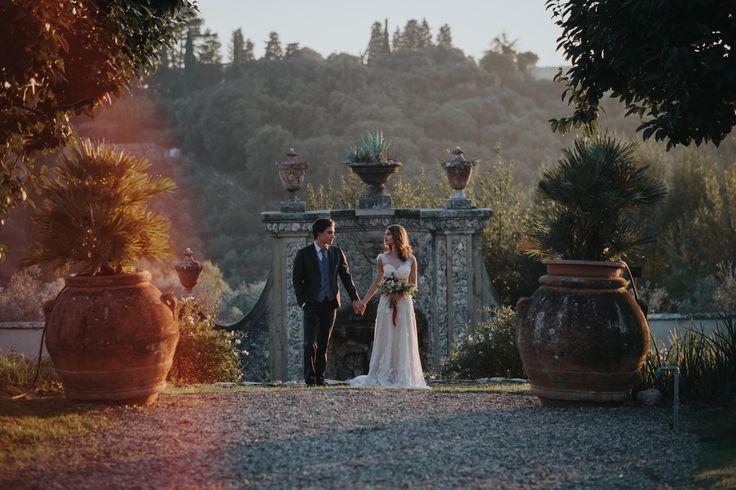 In the garden of Villa Medicea di Lilliano - picture by Stefano Cassaro