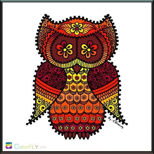Eight Tones Owl by Chreasy