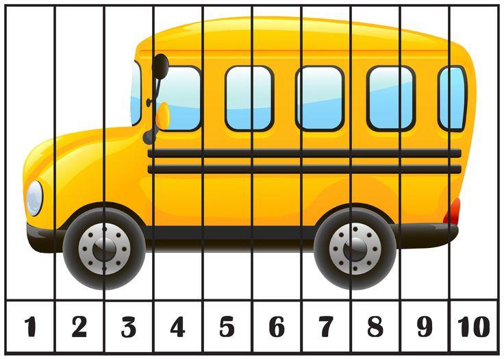 493 Mejores Imágenes De 1, 2, 3...10 Számos Puzzle En