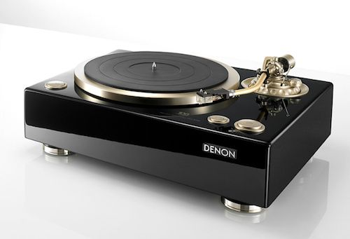 Denon Turntable. DP-A100. Coolness. Can't believe Denon is turning 100!