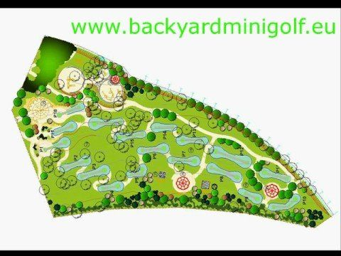 how to make a miniature golf course