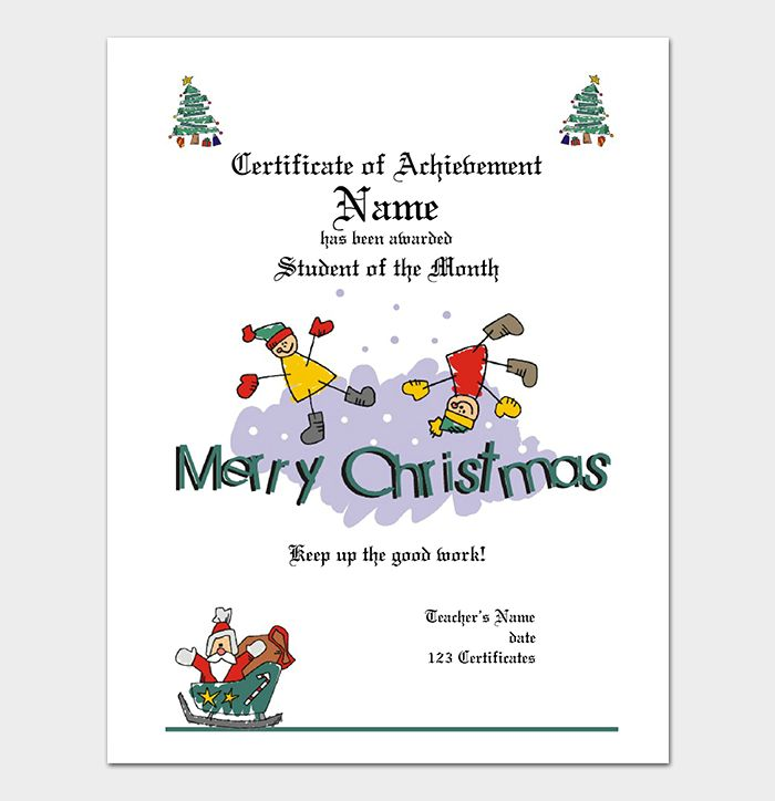 Christmas Certificates Templates For Word Pleasing 17 Best Miscellaneous Images On Pinterest  Hair Cut Hair Dos And .