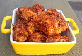 Cajun Chicken Wings...My new favorite kind of wing!