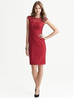 Red cocktail dress cheap quilt
