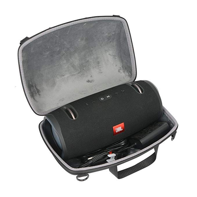 Black Hard Travel Case for JBL Boombox Portable Bluetooth Waterproof Speaker